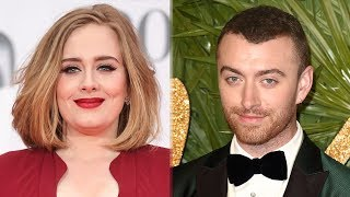Download Video Fans Think Adele & Sam Smith Are SAME Person With CRAZY Conspiracy Theory MP3 3GP MP4