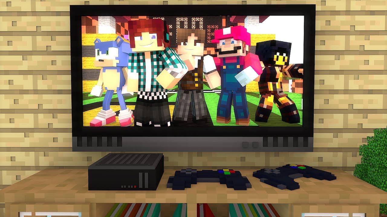 minecraft dentro de um video game aventuras com mods 04 youtube. Black Bedroom Furniture Sets. Home Design Ideas
