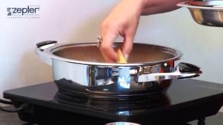 Шарлотка. Рецепт приготовления в посуде Zepter.