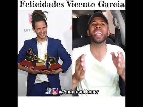 Vicente Garcia Ganador de Premios En Los Latin Grammy (FELICIDADES)