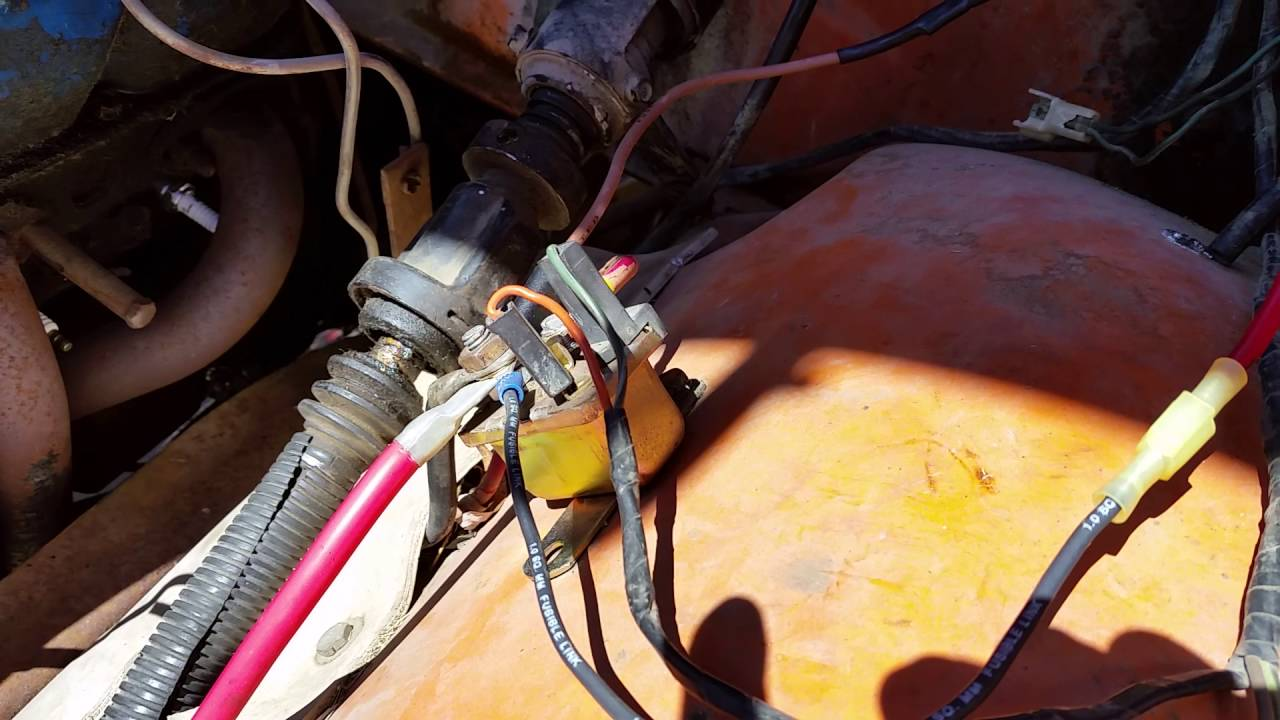 1975 Dodge D200 Power Wagon 400ci Electrical Problems Part 1 Youtube 1973 Truck Wiring Harness