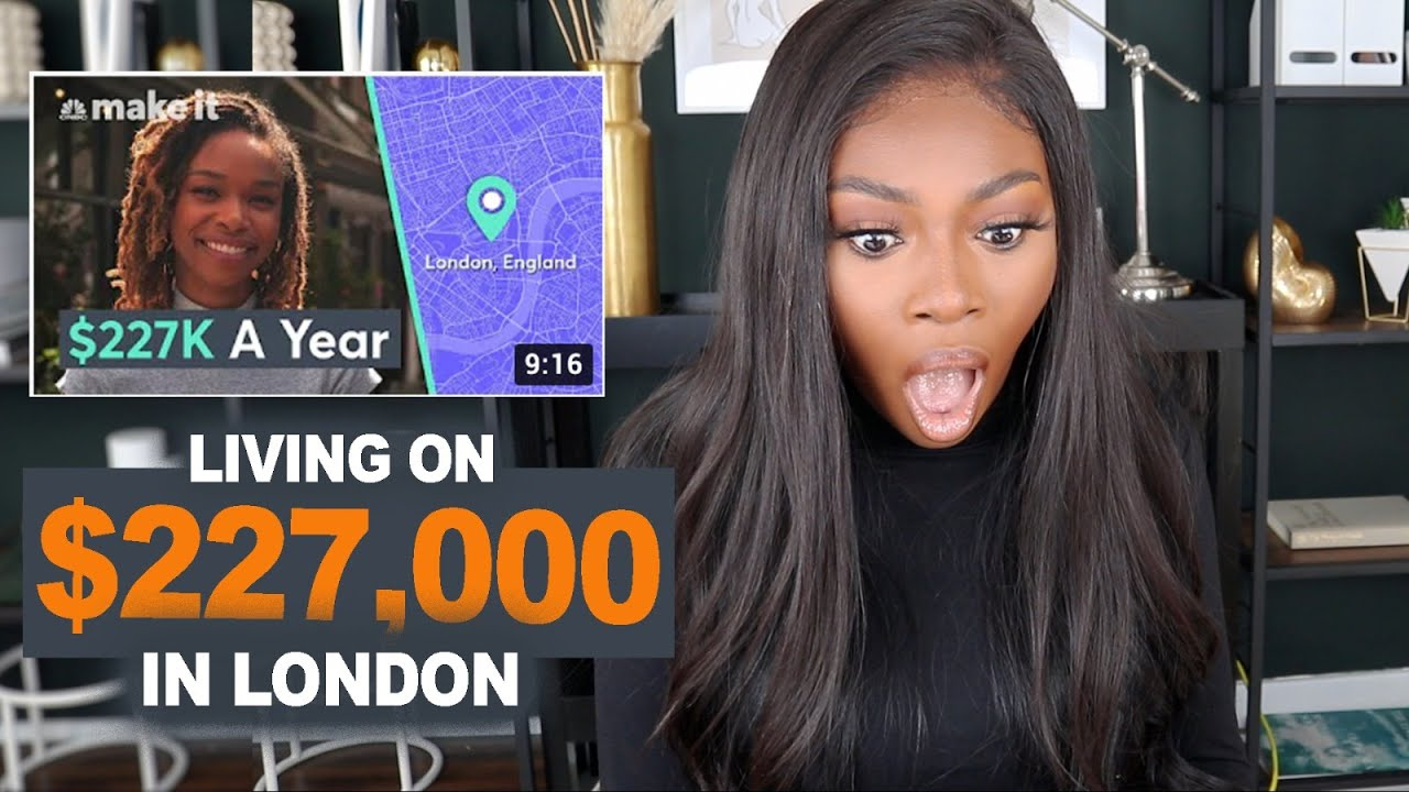 Reacting to Living on a $227,000 Salary in LONDON with £34,000 rent! *Must Watch*