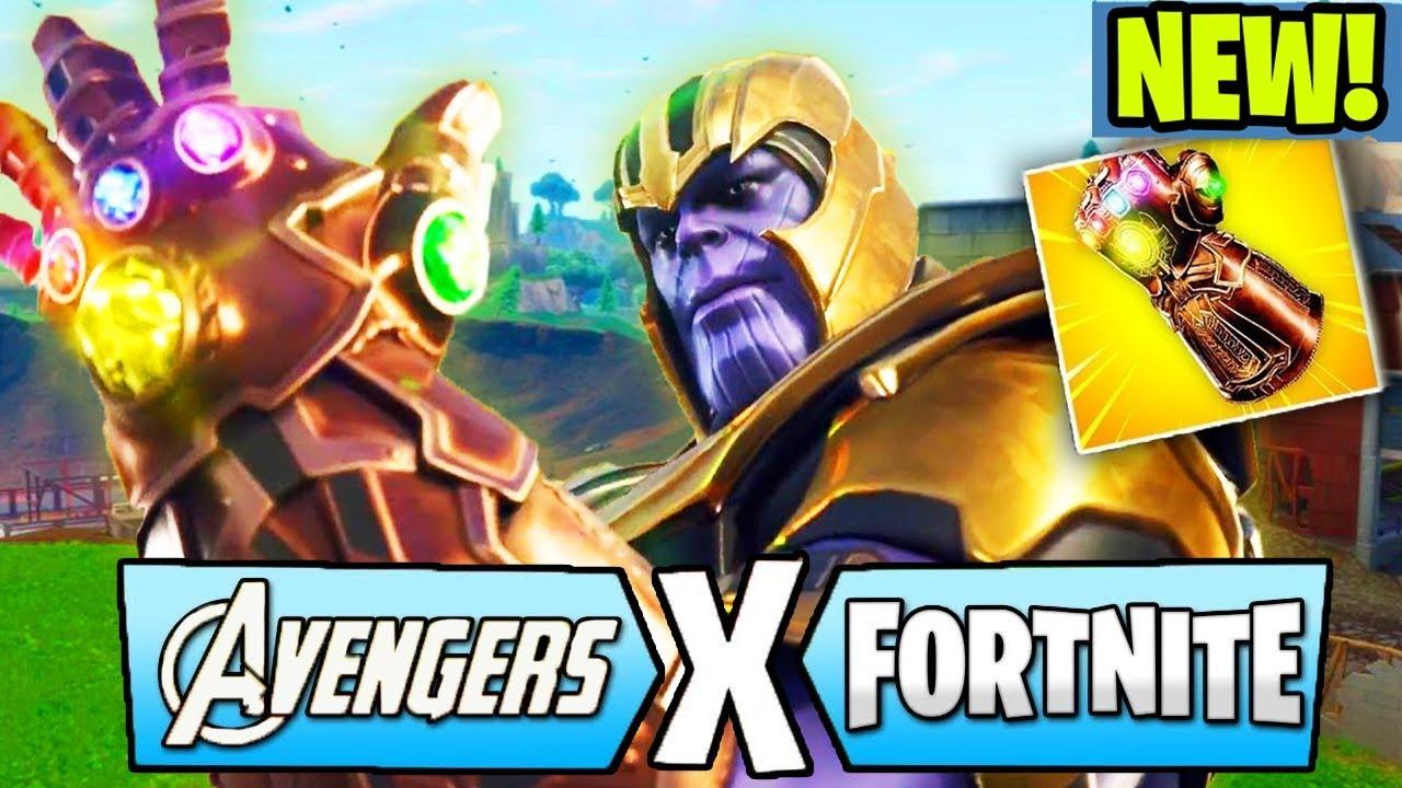 New Thanos Infinity Gauntlet Gameplay Fortnite Infinity