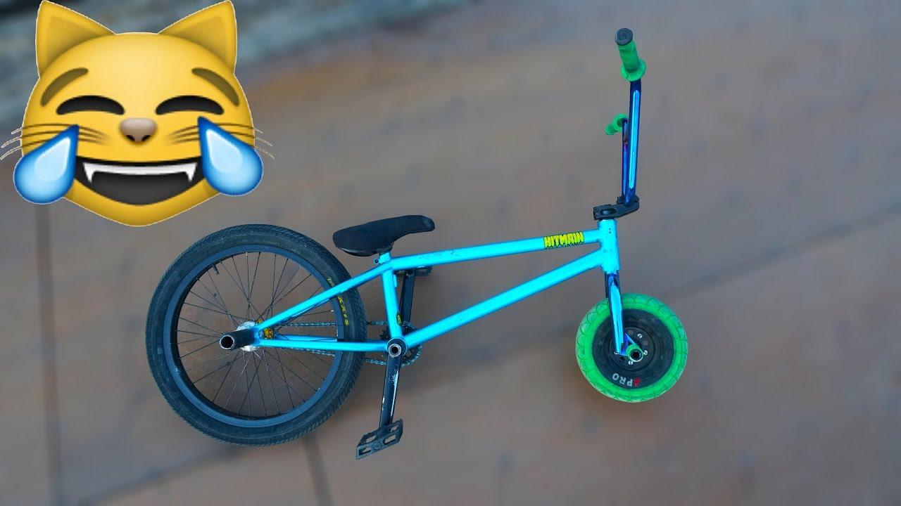 bmx cykel test