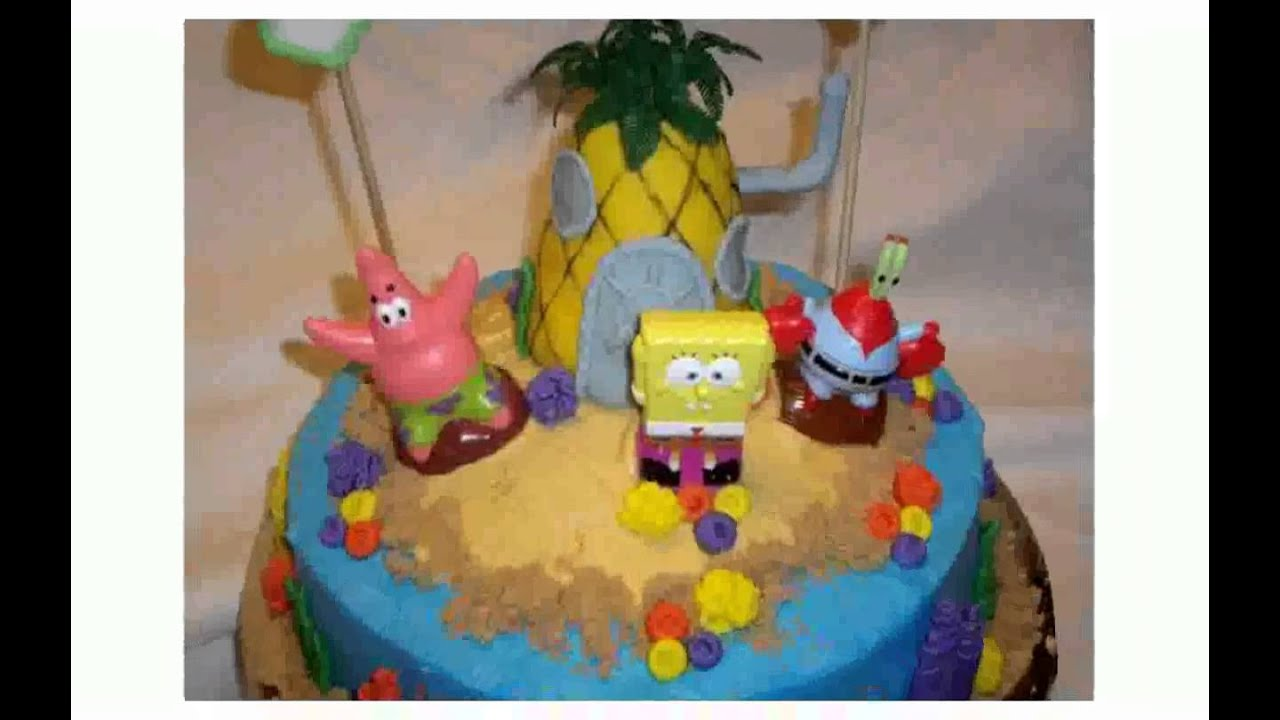 Spongebob Cake Decorations YouTube