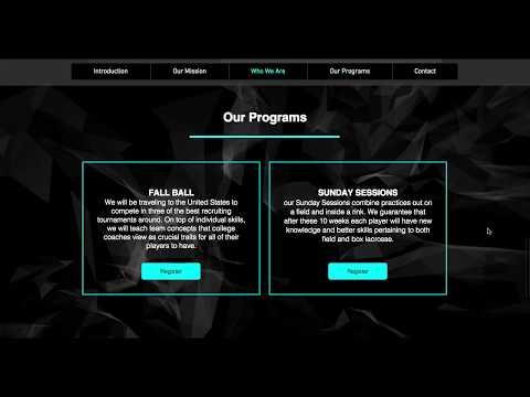 Pacific Coast Lacrosse - Website Redesign