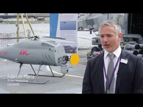 Leonardo #DSEi2019: AWHero UAV