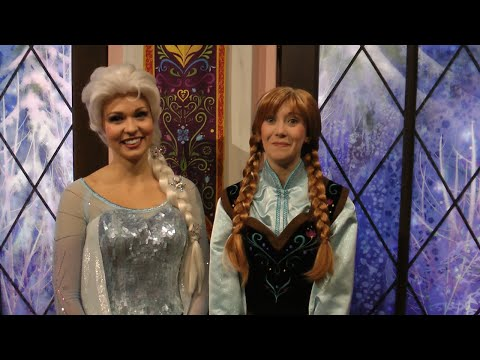 Frozen Fun with Anna, Elsa, and Olaf: Disney California Adventure, Disneyland Resort