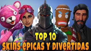 Video TOP 10 LAS SKINS MAS ÉPICAS Y DIVERTIDAS DE FORTNITE - MaxiLunaPMY download MP3, 3GP, MP4, WEBM, AVI, FLV Agustus 2018