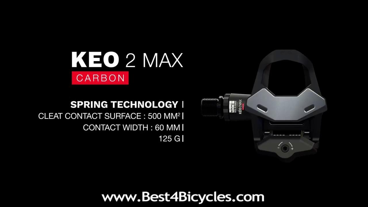 pedali look keo 2 max carbon 2018
