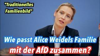 Zum Familienbild der AfD: Lebt Alice Weidel in einer
