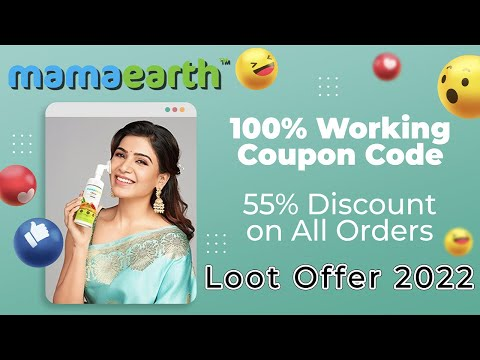 Mamaearth Products Coupon Code – Mamaearth Coupon code Offers Online | in Hindi 2020 🔥🌟