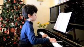 Johann Sebastian Bach. Minuetto n° IV Esegue Giovanni Paolo al Pianoforte