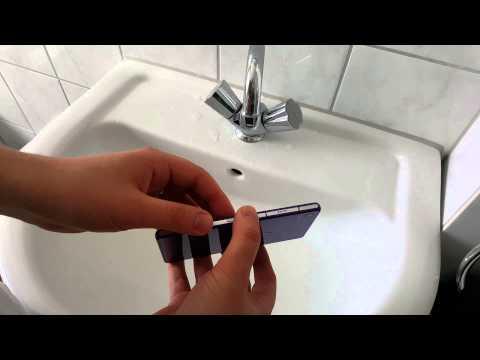 Sony Xperia Z2 после 6 мес. использования, обзор стекла, камера, водонепроницаемость, Wassertest