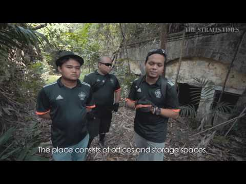 Living City: Explorers of wartime relic Fort Serapong on Sentosa