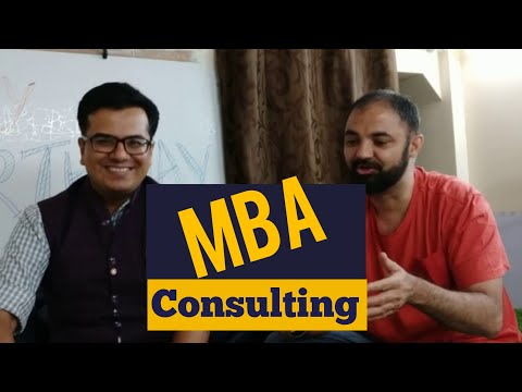 MBA In Consulting. Profiles Salary Future.