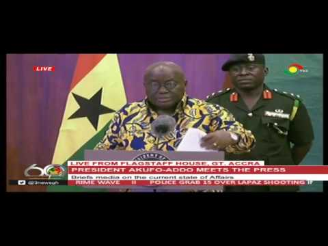 Prez Akufo-Addo's 6-months of results with the media [full] - 18/7/2017