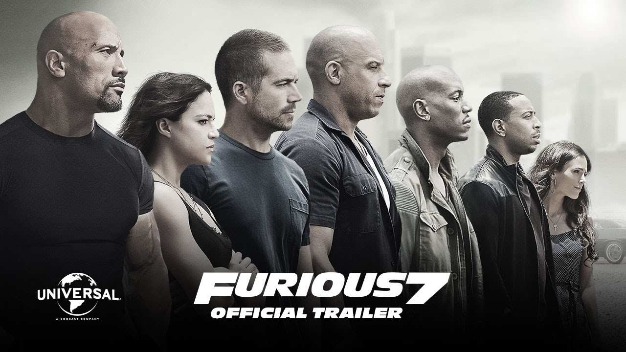 furious 7 official theatrical