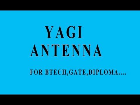 YAGI ANTENNA (HINDI)