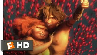 The Croods (2013) - Fighting Flyers With Fire Scene (3/10) | Movieclips