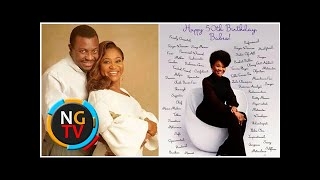 Love you scatter MaBrandi - Comedian Ali Baba celebrates his gorgeous wife as she turns 50