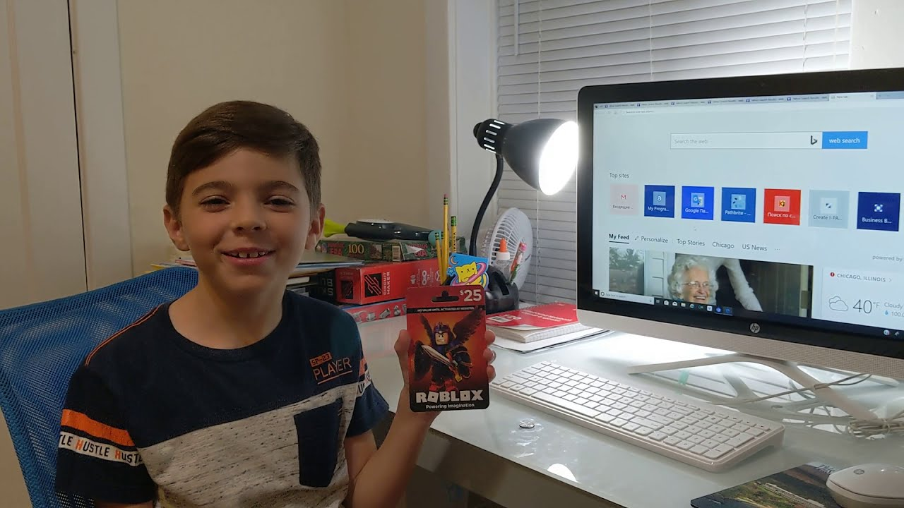 How To Use Roblox Gift Card Youtube