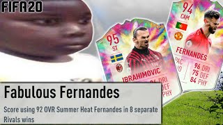 i completed SUMMER HEAT BRUNO FERNANDES and IBRAHIMOVIC (at the same time  ಠ╭╮ಠ