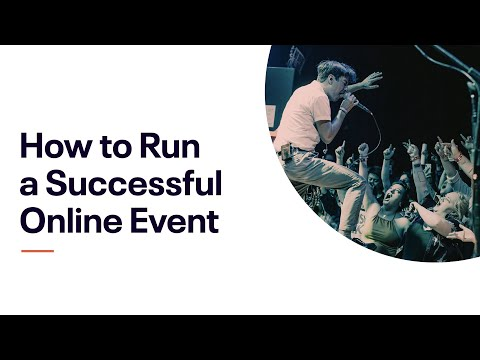 Eventbrite Webinar: How To Run A Successful Online Event [Europe]