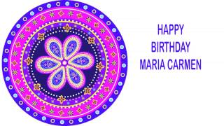 MariaCarmen   Indian Designs - Happy Birthday
