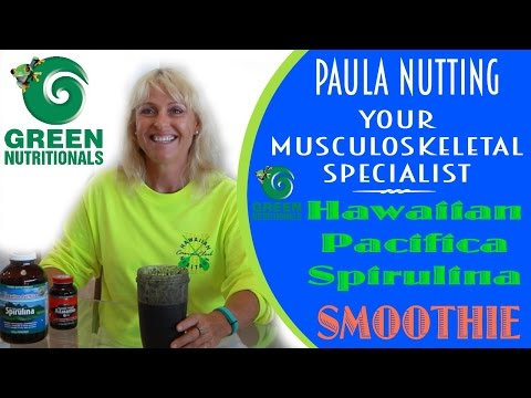 It's Easy Being GREEN - Hawaiian Pacifica Spirulina
