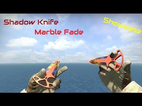 Cs Go Shadow Dagger Marble Fade Showcase Youtube