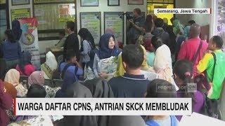 Daftar CPNS, Antrean SKCK Membeludak II CNN ID Update