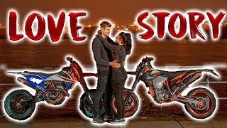 Meine Supermoto Love Story | Blackout & Anica ❤️