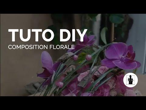 TUTO - Composition florale - Max le fleuriste