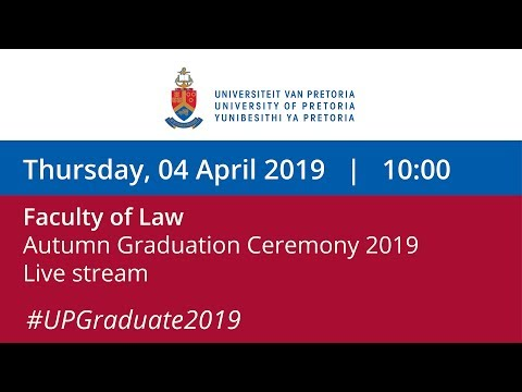 Faculty of Law Graduation Ceremony 10:00, 4 April 2019