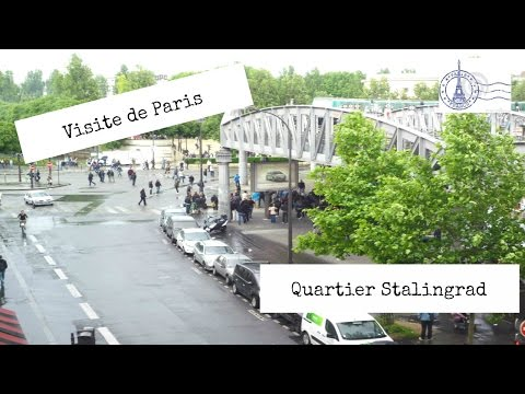 PARIS FRANCE VISITE QUARTIER STALINGRAD  75019 #1