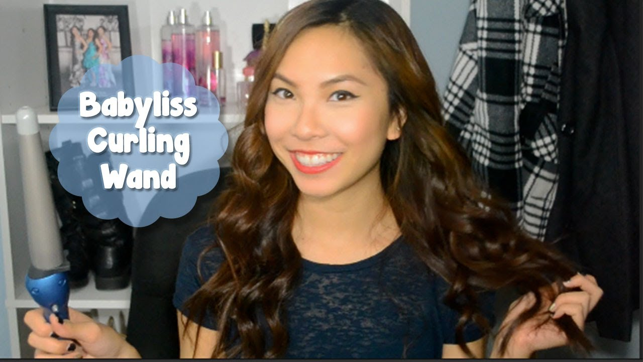 Babyliss Pro Nano Titanium Curling Wand Review And Demo