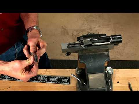 Gunsmithing - How to Polish the Bolt Lug Raceway on a Mauser 98 Bolt Action Rifle
