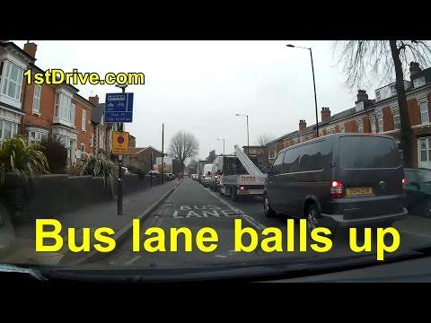 Bus lane balls up