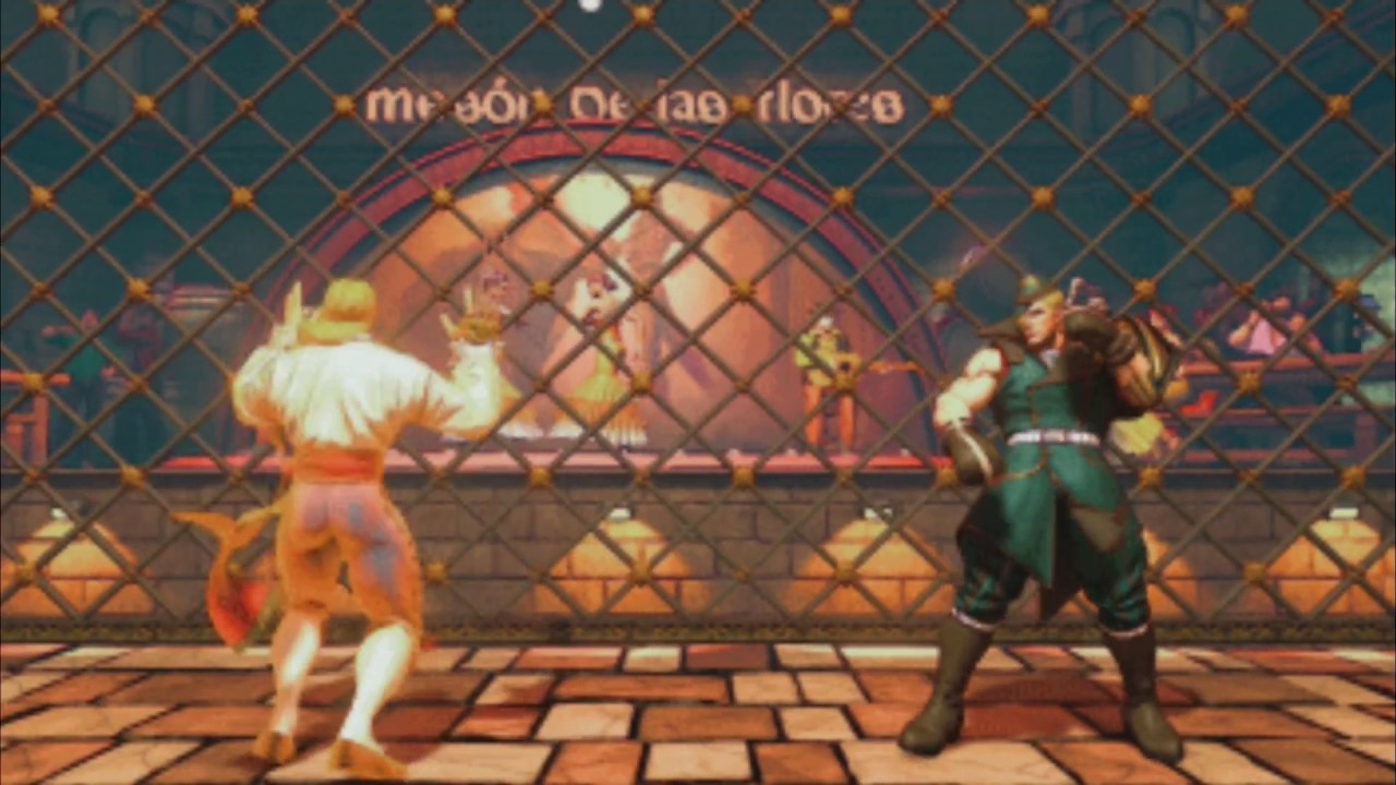 Street Fighter V Vega Stage Classic Flamenco Tavern Youtube