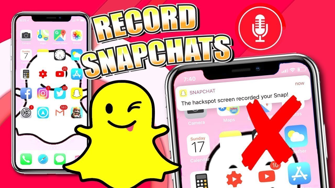 How to Screen Record On Snapchat WITHOUT THEM KNOWING 2020 ...