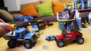 Unboxing with HowFun - LEGO City - Mountain Police Headquarters and Dirt Road Pursuit