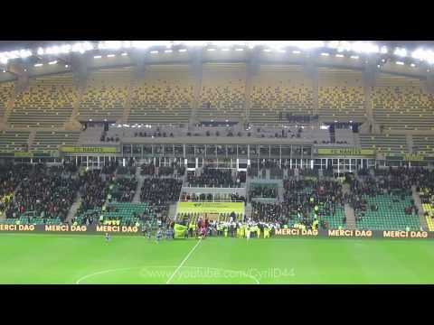 Ambiance Nantes contre Troyes Samedi 10 Mars 2018