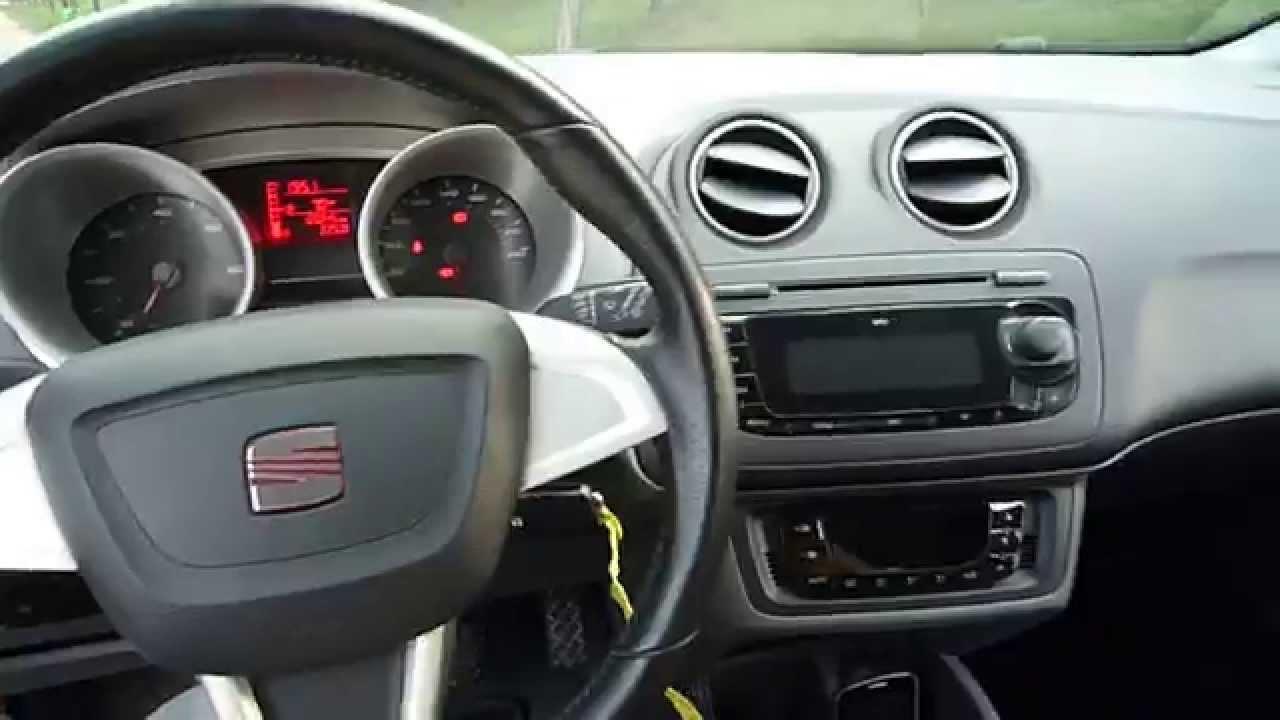 Seat Ibiza 16 TDi 105cv  Interior  YouTube
