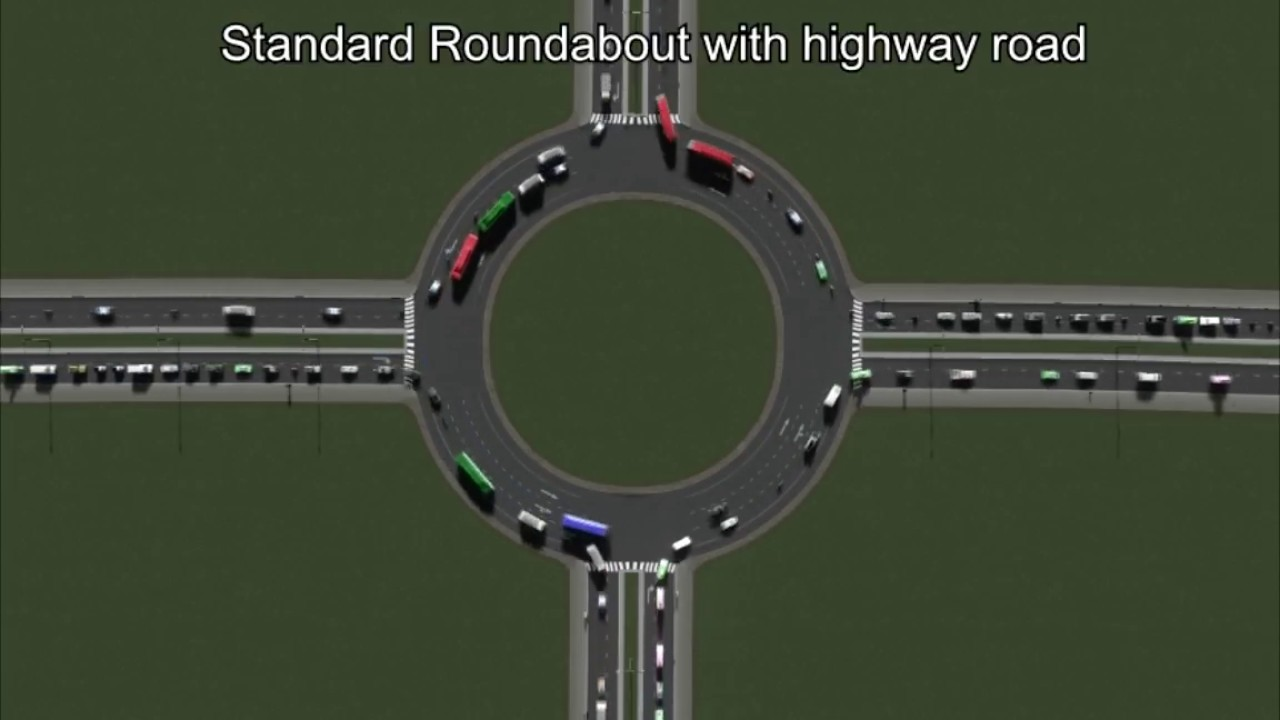 Watch traffic flow better in 30 simulations of a 4-way
