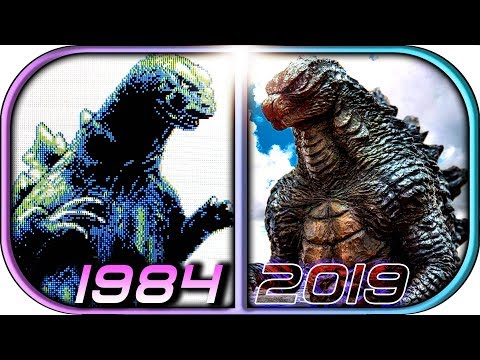 EVOLUTION of GODZILLA in Games (1984-2019  Godzilla King of the Monsters video game graphics history