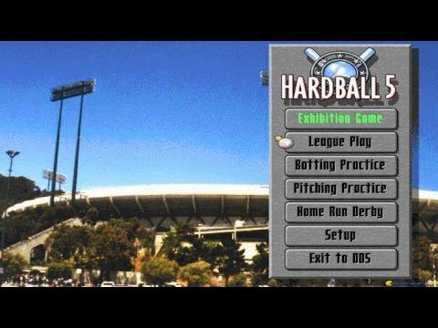 Hardball 5 gameplay (PC Game, 1995)