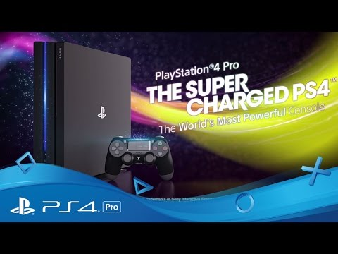 ps4 pro the super charged ps4 tech features youtube. Black Bedroom Furniture Sets. Home Design Ideas