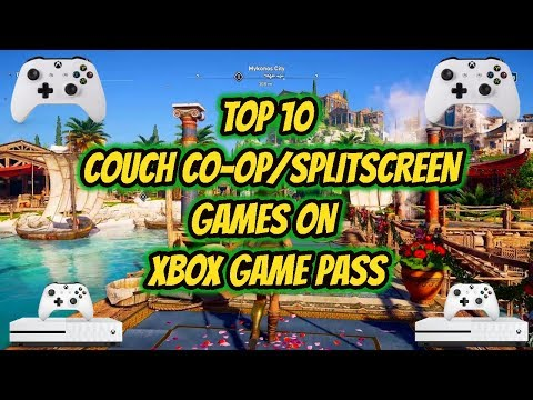 Top 10 Couch Co-op/Split Screen Games Xbox Game Pass