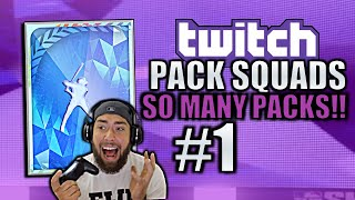 MOONSHOT HOMERS! *NEW* Twitch Pack Squads #1 MLB The Show 19 Diamond Dynasty!